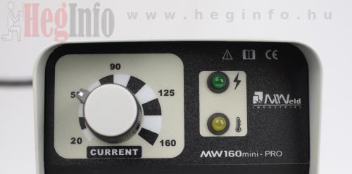 mweld mini pro 160 mma inverteres hegesztogep 7mweld mini pro 160 mma inverteres hegesztőgép heginfo hegesztéstechnika 7