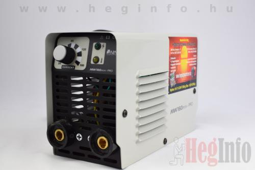 mweld mini pro 160 mma inverteres hegesztőgép heginfo hegesztéstechnika 8