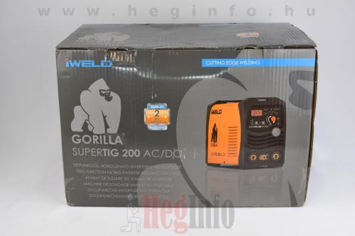 iweld gorilla supertig 200 acdc inverteres hegesztogep 1 heginfo hegesztestechnika