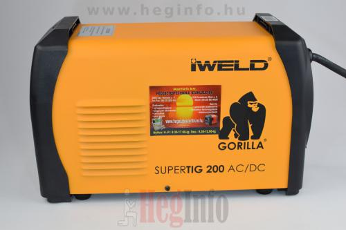 iweld gorilla supertig 200 acdc inverteres hegesztogep 8 heginfo hegesztestechnika
