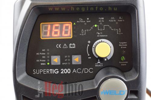 iweld gorilla supertig 200 acdc inverteres hegesztogep 9 heginfo hegesztestechnika