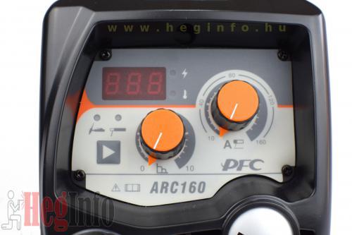 jasic proarc 160 pfc hegeszto inverter 7 heginfo hegesztestechnika