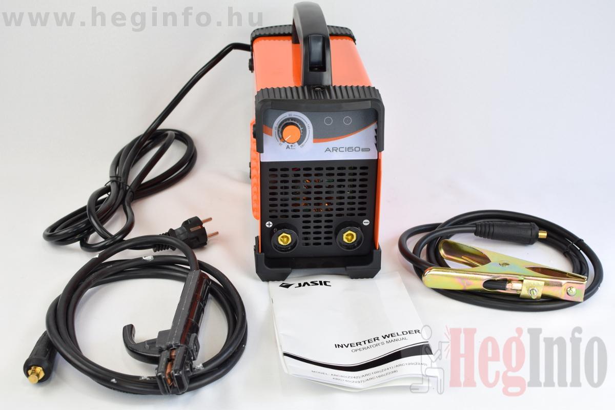 Jasic Arc-160 z238 inverteres mma hegesztőgép