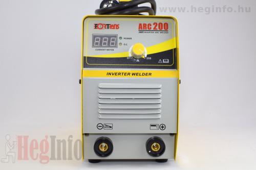 fortrans mma200 hegeszto inverter heginfo hegesztestechnika 4