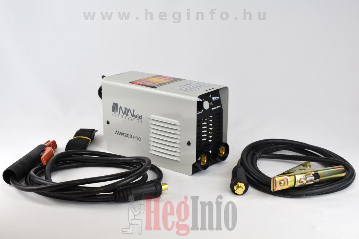 MWeld Pro 200 inverteres hegesztőgép
