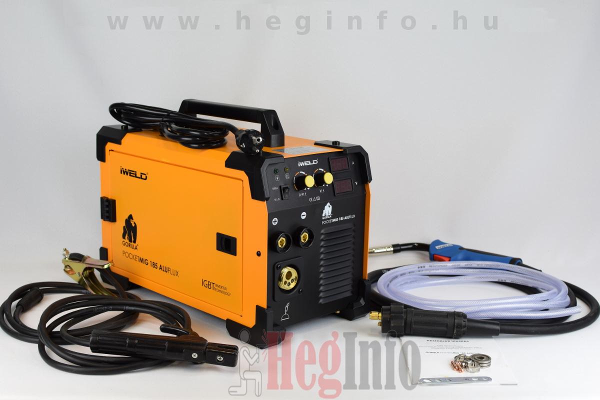 Iweld Aluflux 185 inverteres hegesztőgép