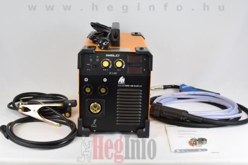 iweld aluflux 185 inverteres hegesztőgép heginfo hegesztéstechnika