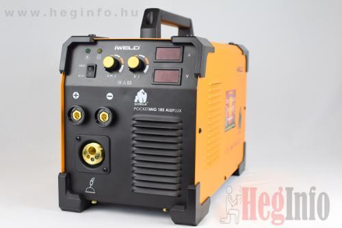 iweld aluflux 185 inverteres hegesztőgép heginfo hegesztéstechnika 10