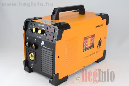iweld aluflux 185 inverteres hegesztőgép heginfo hegesztéstechnika 4