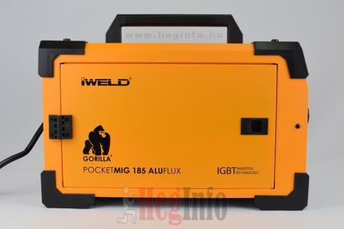 iweld aluflux 185 inverteres hegesztőgép heginfo hegesztéstechnika 6