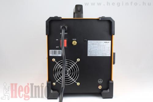 iweld aluflux 185 inverteres hegesztőgép heginfo hegesztéstechnika 9