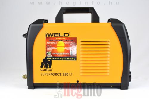 iweld superforce 220lt inverteres hegesztogep 5 heginfo hegesztestechnika