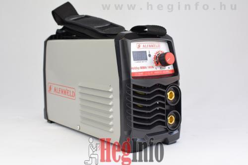 alfaweld hobby mma 160 inverteres hegesztogep 3 HegInfo hegesztéstechnika hegesztőgépek