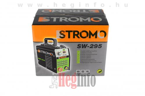 stromo sw 295 inverteres hegesztogep heginfo hegesztestechnika