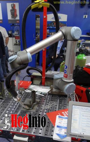 Lorch hegeszto robot Mach Tech kiallitas Heginfo hegesztestechnika