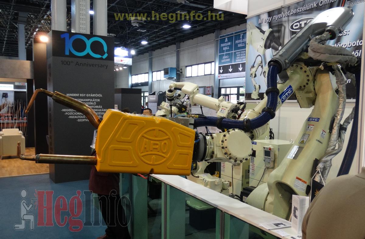 mach tech 2019 aro ponthegesztő robot Heginfo hegesztéstechnika