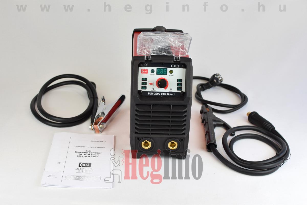 blm 2200 dtm smart inverteres hegesztogep heginfo hegesztestechnika 7