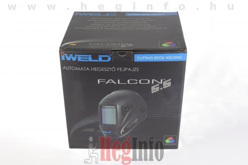 iweld falcon 5 5 automata hegeszto fejpajzs doboz heginfo hegesztestechnika