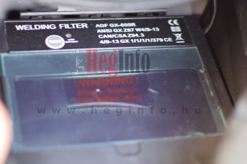 Premiumweld pwd super 600r automata frisslevegos hegeszto fejpajzs látómező
