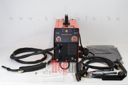 haina mig-mma-270 inverteres hegesztogep tartozekaival heginfo hegesztes hegesztestechnika
