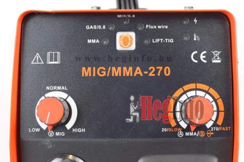 haina mig-mma-270 inverteres hegesztogep kezelofelulet heginfo hegesztes hegesztestechnika
