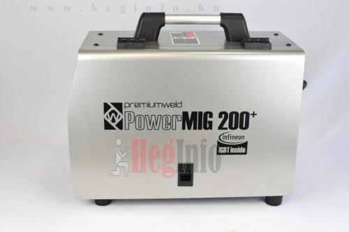pwd premiumweld powermig200 inverteres co hegesztogep 6 hegesztő inverter hegesztéstechnika heginfo