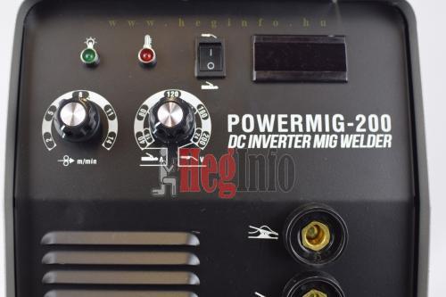 pwd premiumweld powermig200 inverteres co hegesztogep 9 hegesztő inverter hegesztéstechnika heginfo