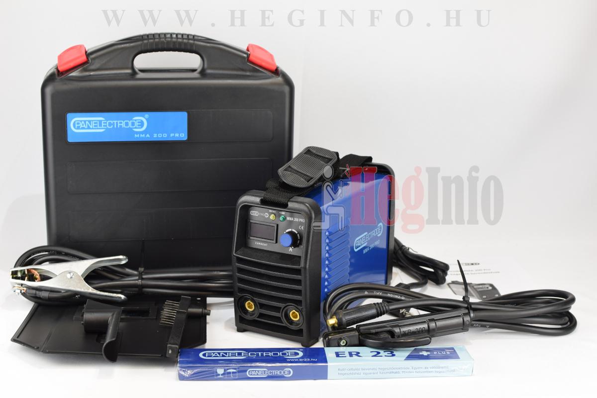 panelectrode mma 200 pro inverteres hegesztogep 1